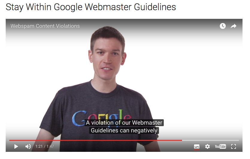 Webmaster Guidelines Search Console Help1