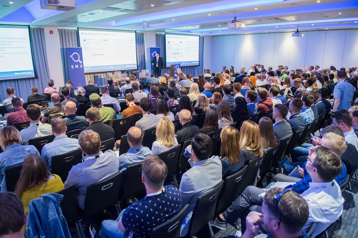 SMX London UK 2019 15% discount code: ANGLUXSMXUK